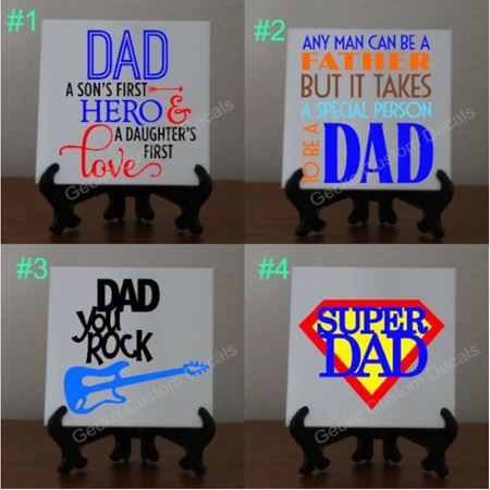 Tiles - Dad/Grandad/Step Dad Set
