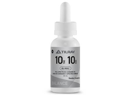 TILRAY THC10CBD10 40ml