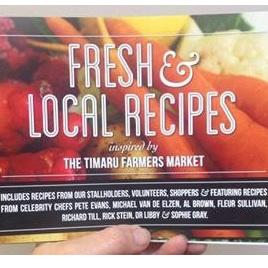 Timaru Farmers Market Recipes (Soft Cover Book)