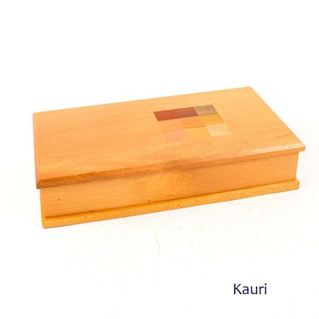 Timber Art Chequer Trinket Box Medium