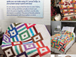"Time-Saving Quilts with 21/2"" Strips Book"