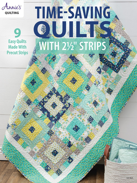 """Time-Saving Quilts with 21/2"""" Strips Book"""