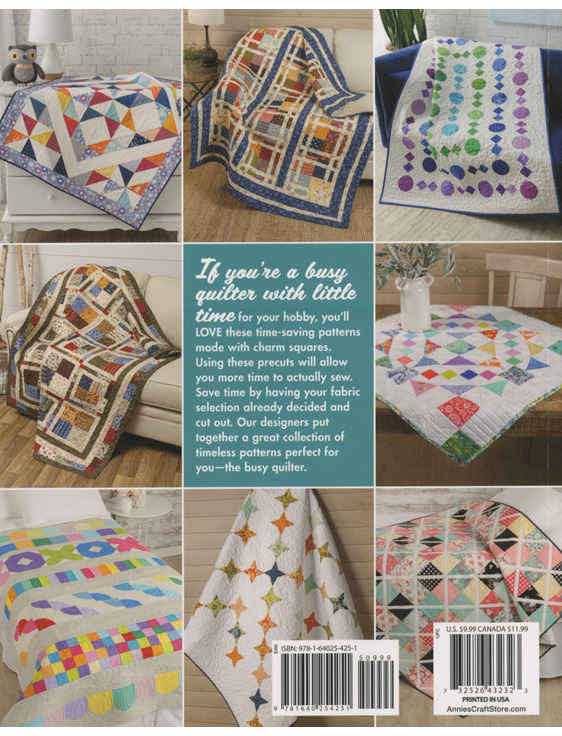 Time-Saving Quilts with Charm Quilts Book