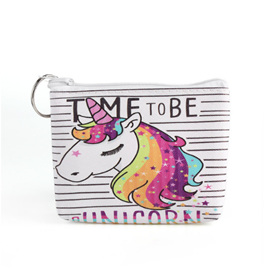 TIME TO BE A UNICORN COIN PURSE