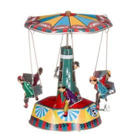 Tin circus carousel