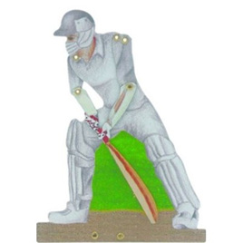 "Tin click - ""The Cricketer"""