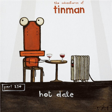 Tin Man - Hot Date Black Box Frame