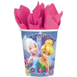 Tinkerbell Best Friend Fairies Cups x 8