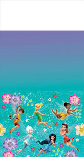 Tinkerbell Best Friends Fairies Table Cover
