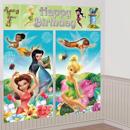 Tinkerbell Happy Birthday Wall Kit