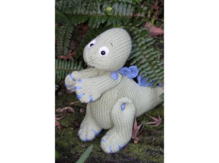 Tino The Baby Dino Kit Pattern