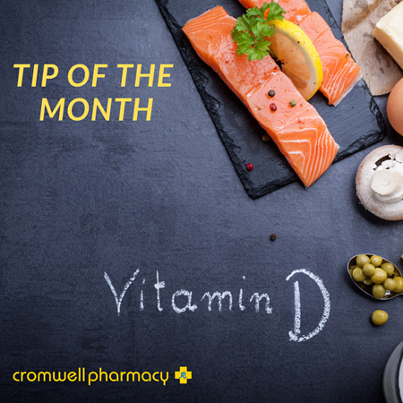 Tip of the Month - Vitamin D Supplements