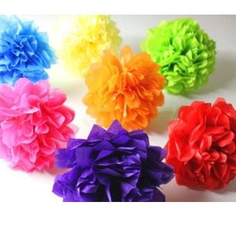 Tissue Pom Pom - Single