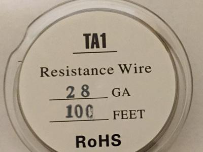 TITANIUM WIRE 100FT SPOOLS