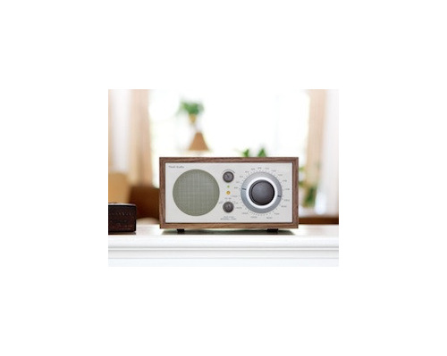 Tivoli Audio Model One BT table radio in Walnut/beige  from Totally Wired