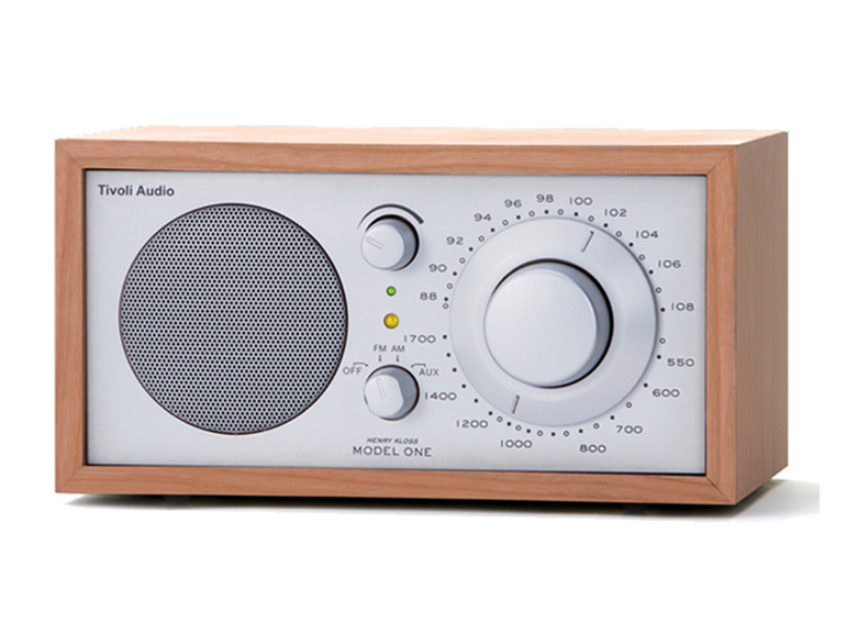 Tivoli Audio Model One radio cherry/silver from Totally Wired