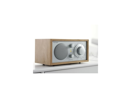 Tivoli Audio Model One table radio in Cherry/silver from Totally Wired