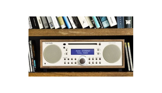 Tivoli Bluetooth Music System Walnut/beige from Totally Wired