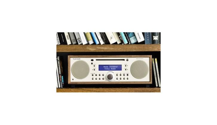 Tivoli Bluetooth Music System Walnut/beige from Totally Wired