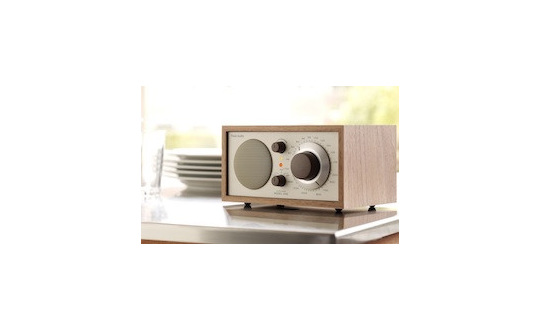 Tivoli Model One table radio in walnut/beige from Totally Wired