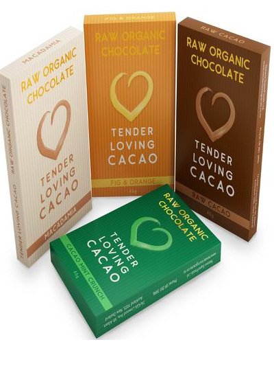 TLC Organic Raw Chocolate (Fig & Orange) - 45g