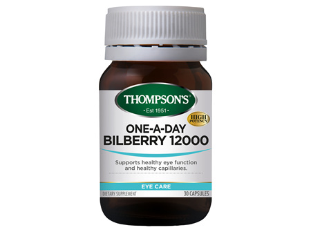 TN One A Day Bilberry 30caps