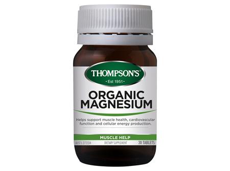 TN Organic Magnesium 30tabs