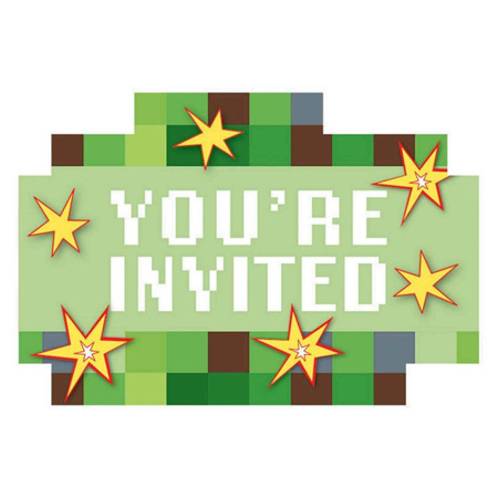 TNT/Minecraft invites