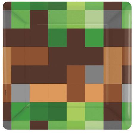 TNT/minecraft plates x 8