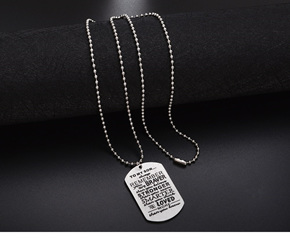 To my Son....Pendant Necklace