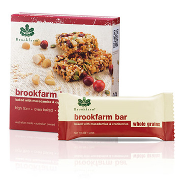 Toasted Macadamia & Cranberry Bars - 4 pack x 35g