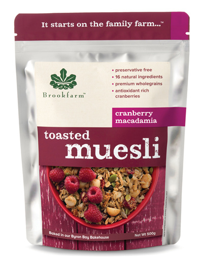 Toasted Macadamia Muesli with Cranberry - 500g