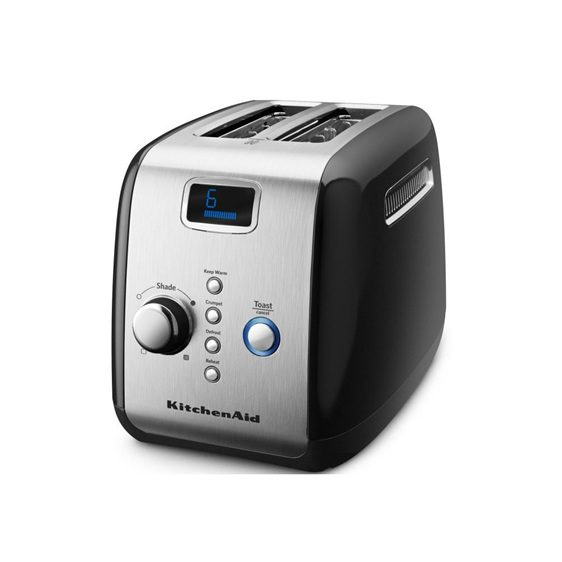 Toaster - 2 Slice, Onyx Black