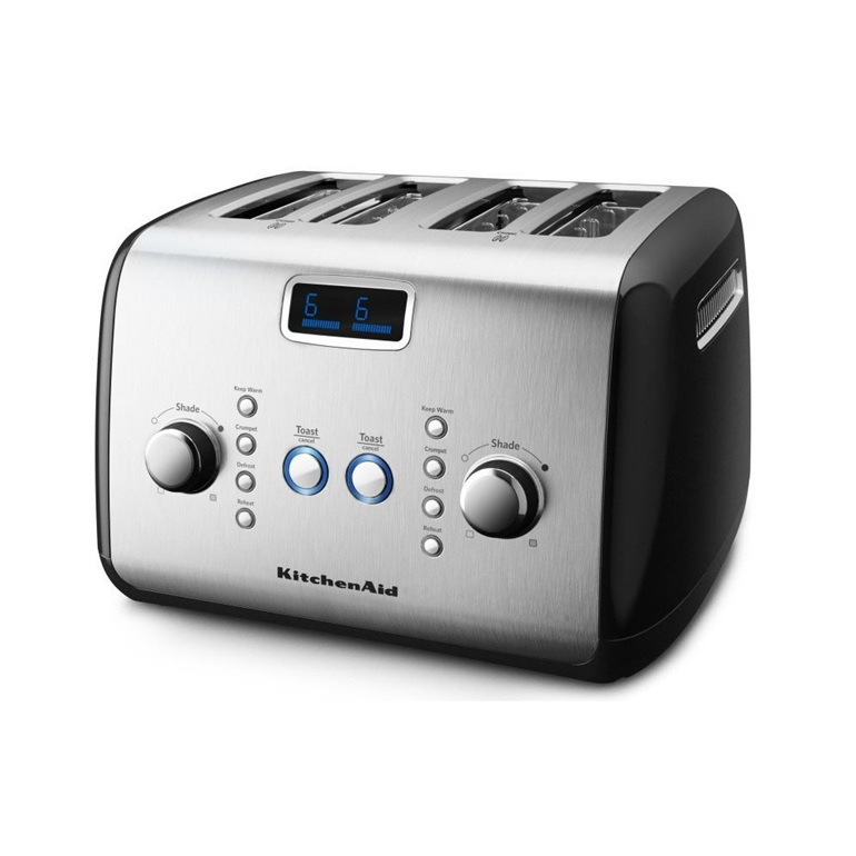 Toaster - 4 Slice, Onyx Black