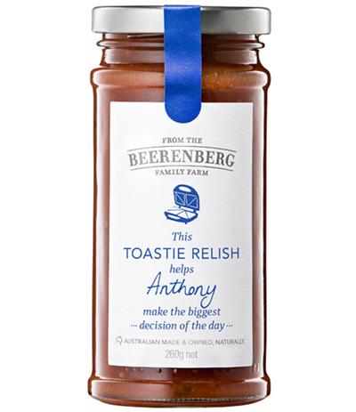 Toastie Relish - 280g