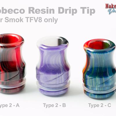 Tobeco Resin Drip Tip for Smok TFV8