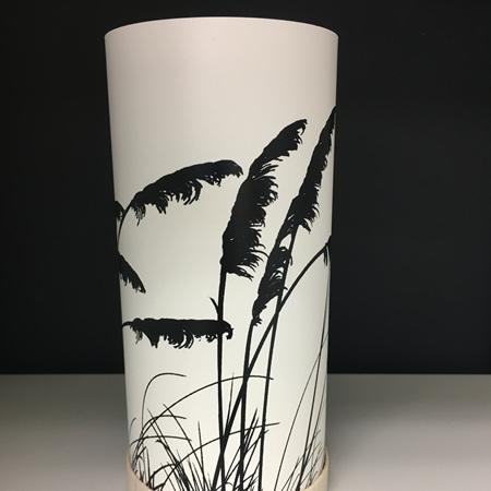 Toi Toi Lantern - Black Silhouette - with LED Light
