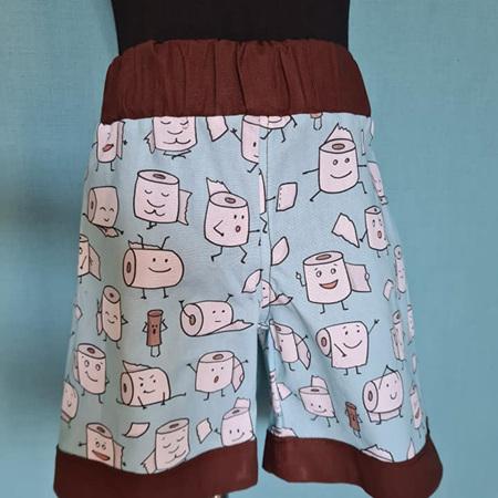 Toilet Paper Shorts Size 2
