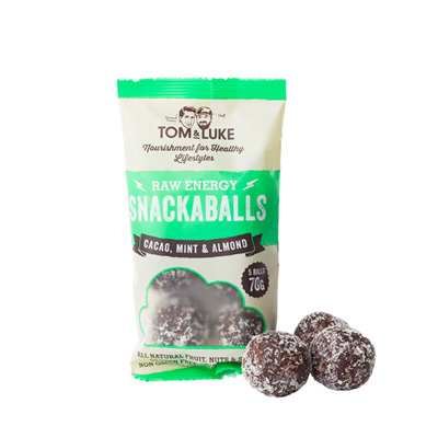 Tom and Lukes SnackaBalls 70g pack