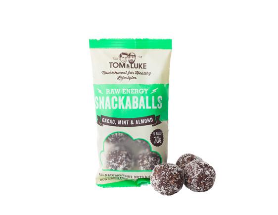Tom and Lukes SnackaBalls 70g pack