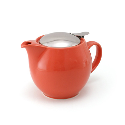 Tomato red 350ml Teapot