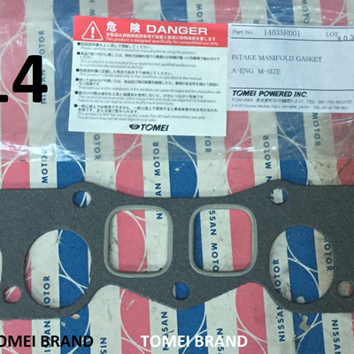 TOMEI Oval Port Inlet Manifold Gasket