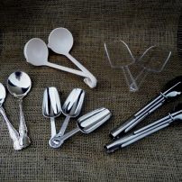 Tongs, Spoons, Landles, Scoops