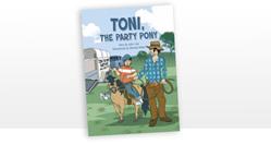 Toni the Party Pony - six copies