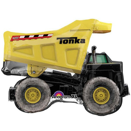 Tonka mini shape balloon dump truck