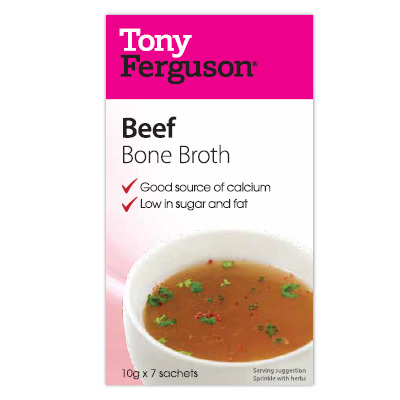 Tony Ferguson Beef Bone Broth 7 Pack