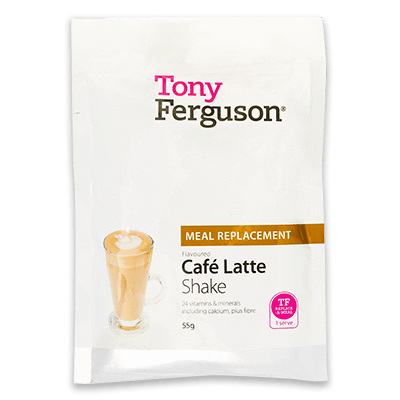 Tony Ferguson Classic Shake Cafe Latte Single Pack