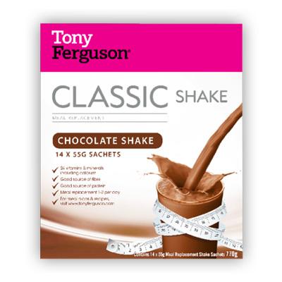 Tony Ferguson Classic Shake Chocolate 14 Pack
