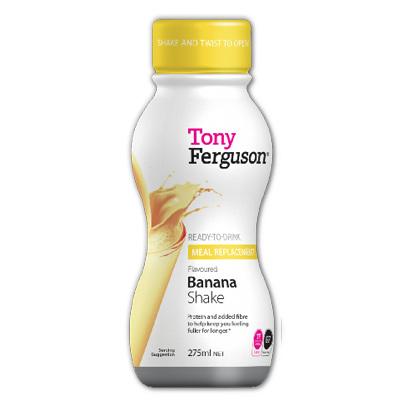 Tony Ferguson Ready-To-Drink Shake Banana 275mL