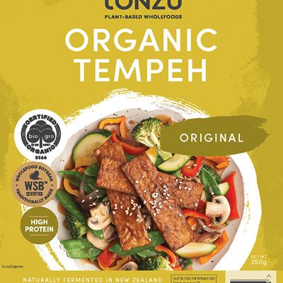 Tonzu Organic Tempeh - 250g